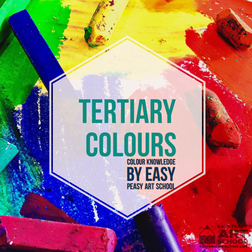 Tertiary Colours - Easy Peasy Art School