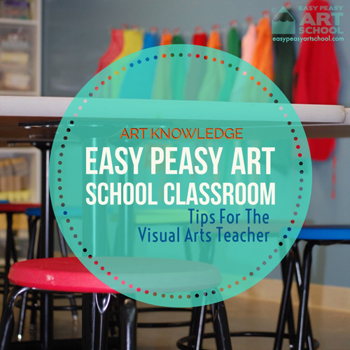 Easy Peasy Art School Classroom
