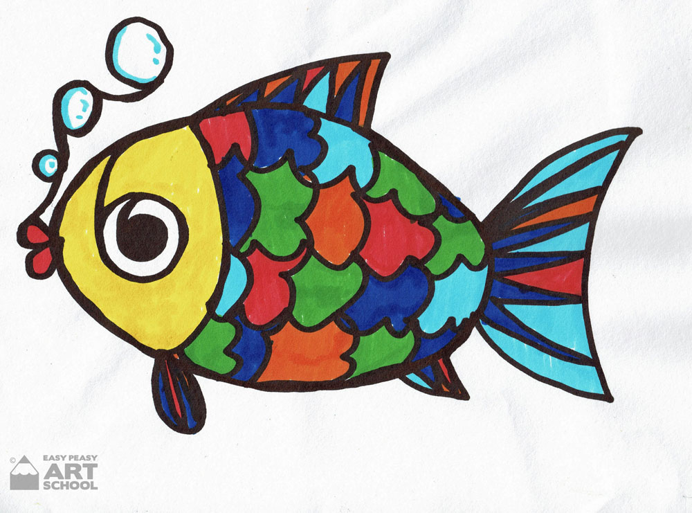 One Line Fish