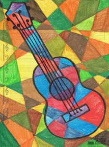 Picasso's Ukulele - Easy Peasy Art School