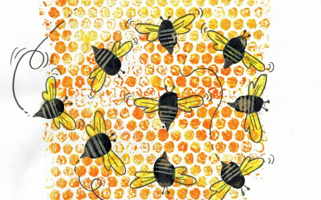 Honey Hive - Easy Peasy Art School