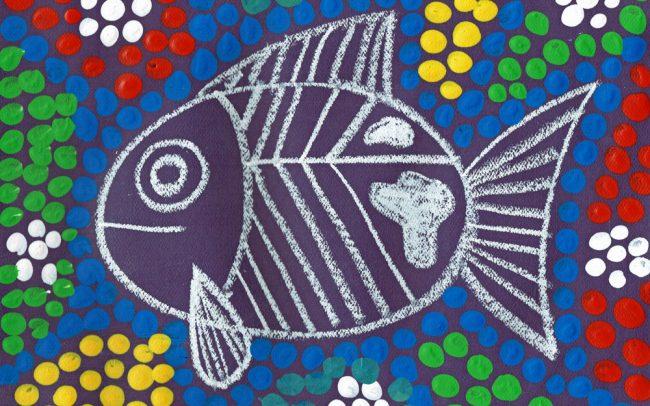 NAIDOC Week Fish - Easy Peasy Art School