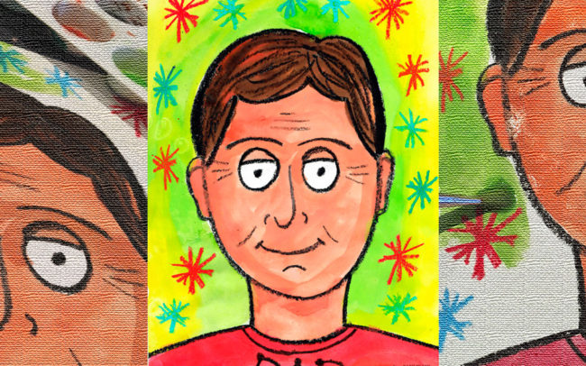 Dad Portrait for Beginners - Easy Peasy Art School