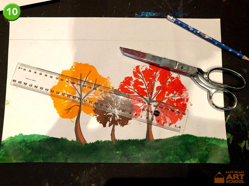 Leaf-Print-Trees10 - Easy Peasy Art School
